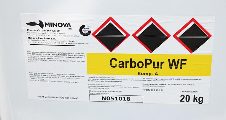 Двокомпонентна ін'єкційна смола CarboPur WF компонент А