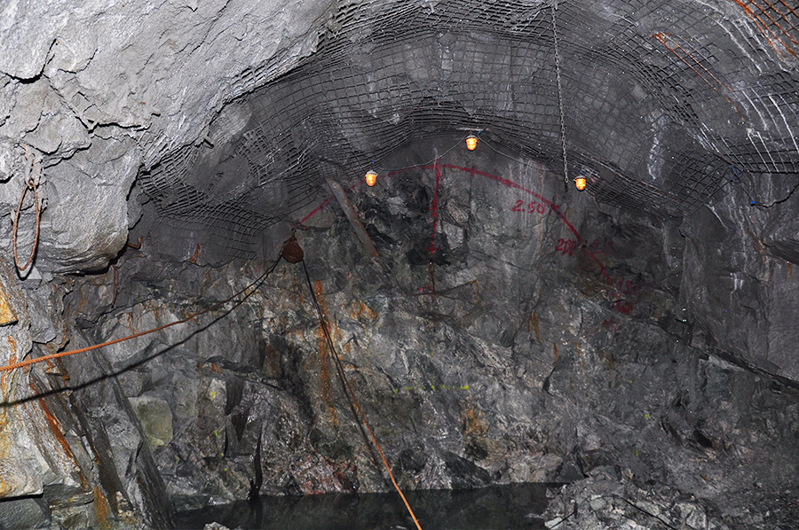 Гидроизоляция шахтных стволов