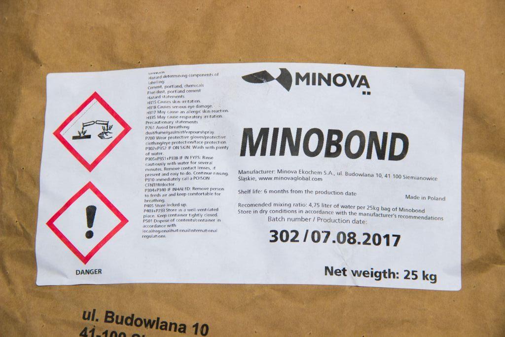Minobond суміш для ремонту