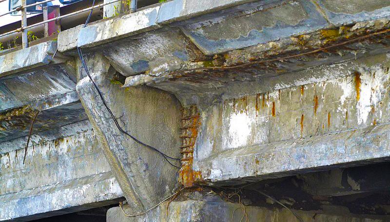 Ремонт мостовых сооружений и конструкций
