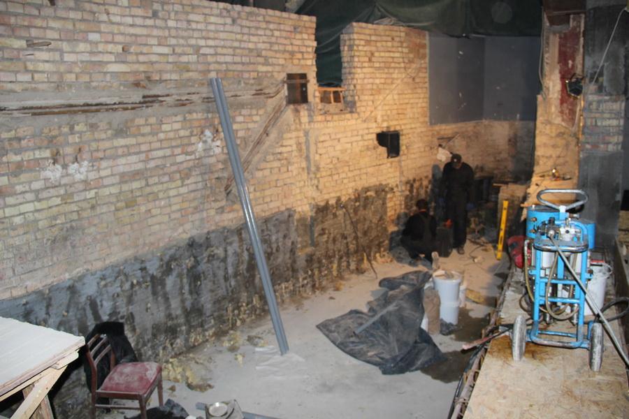 Гидроизоляция подвального помещения