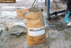 Minostop 60 – специальная смесь для тампонажа