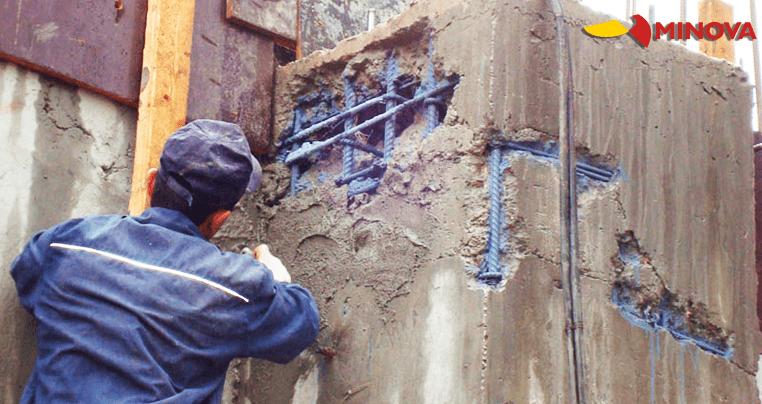 Цементные составы для ремонта бетона MINOVA