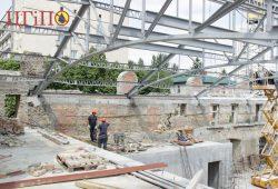 Подготовительные работы по восстановления стен в здания