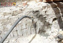 Заполнение пустот в кирпичной кладке методом инъектирования специальных цементных составов