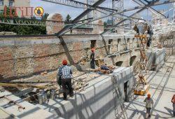 Восcтановление, ремонт конструкций исторических зданий