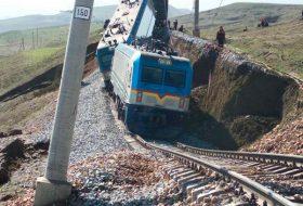 Разрушение железнодорожного полотна
