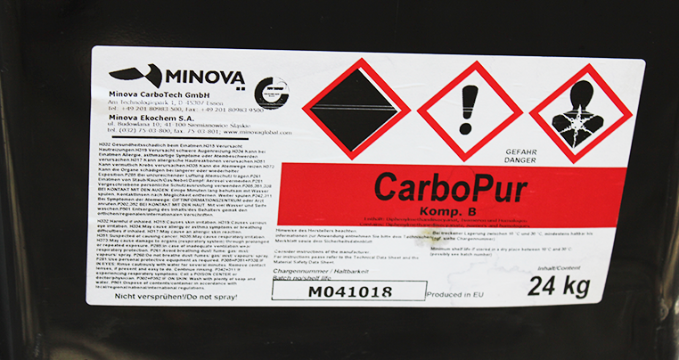 Двокомпонентна ін'єкційна смола CarboPur WF компонент В