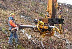 Укрепление склонов с неустойчивыми грунтами