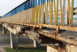 Разрушение железобетонных конструкций