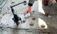 Испытания на адгезию (полиуретановых) смол с бетоном