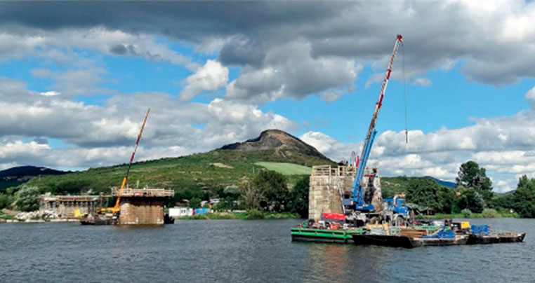 Реконструкция железнодорожного моста c целью увеличения пропускной способности