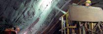 Торкретирование для укрепления туннелей в подземных проходках