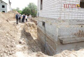 Фундамент до выполнения гидроизоляционных работ