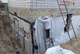 Гидроизоляция фундамента в Харькове
