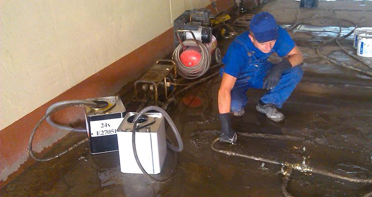 Инъекционная гидроизоляция в Запорожье