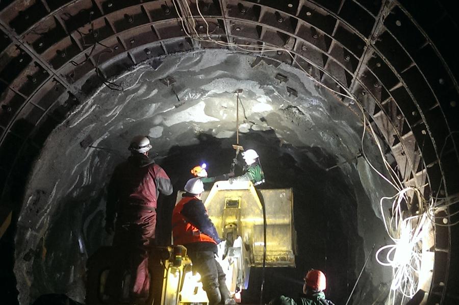 Ремонт подземного тоннеля Днепр
