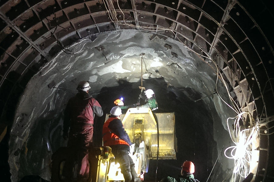 Ремонт подземного тоннеля Одесса