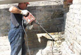 Услуги по усилению кирпичной стены