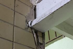 Усиление фундамента – разрушение частей конструкции строения