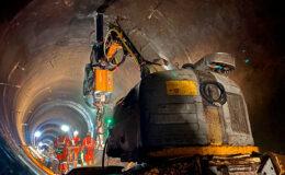 Укрепление при подземном строительстве