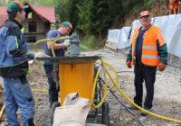 Работы по укреплению грунтов путем цементации грунтов